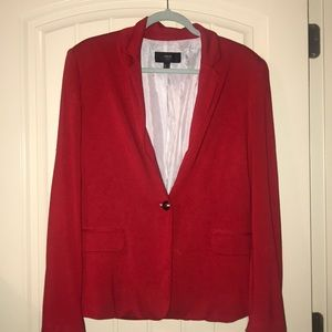 MNG Sz Xl red blazer worn once.